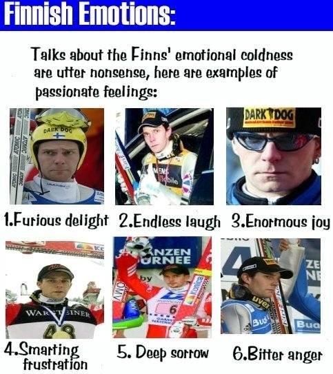 Finnish emotions. | finnishchronicles